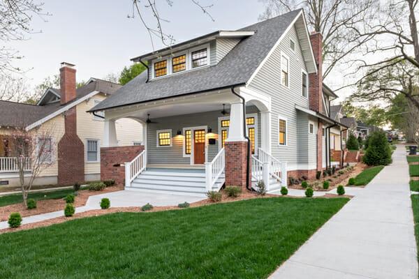 Charlotte craftsman custom home guildquality for Craftsman custom homes