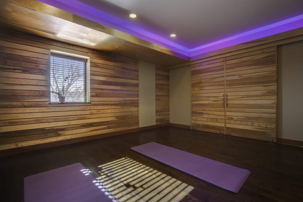 Architectural Building Arts - Yoga Room